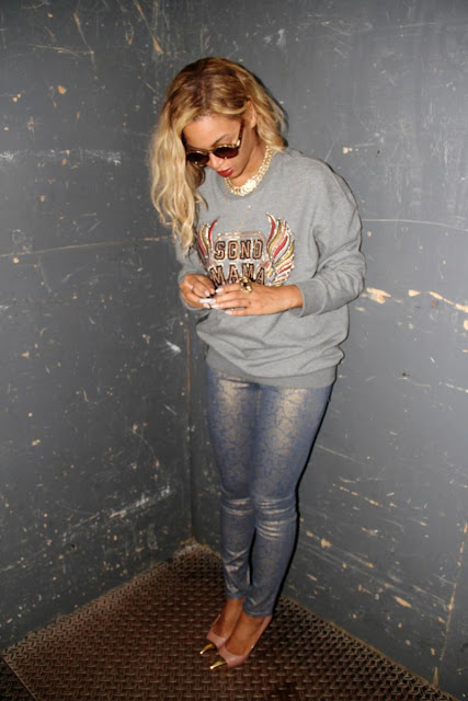 Celebrity Looks: Beyonce Shines in Level 99!