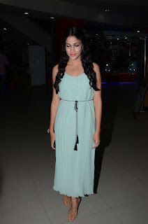 Lavanya Tripathi in a Light Sky Blue Green Evening Gown Spicy Pics