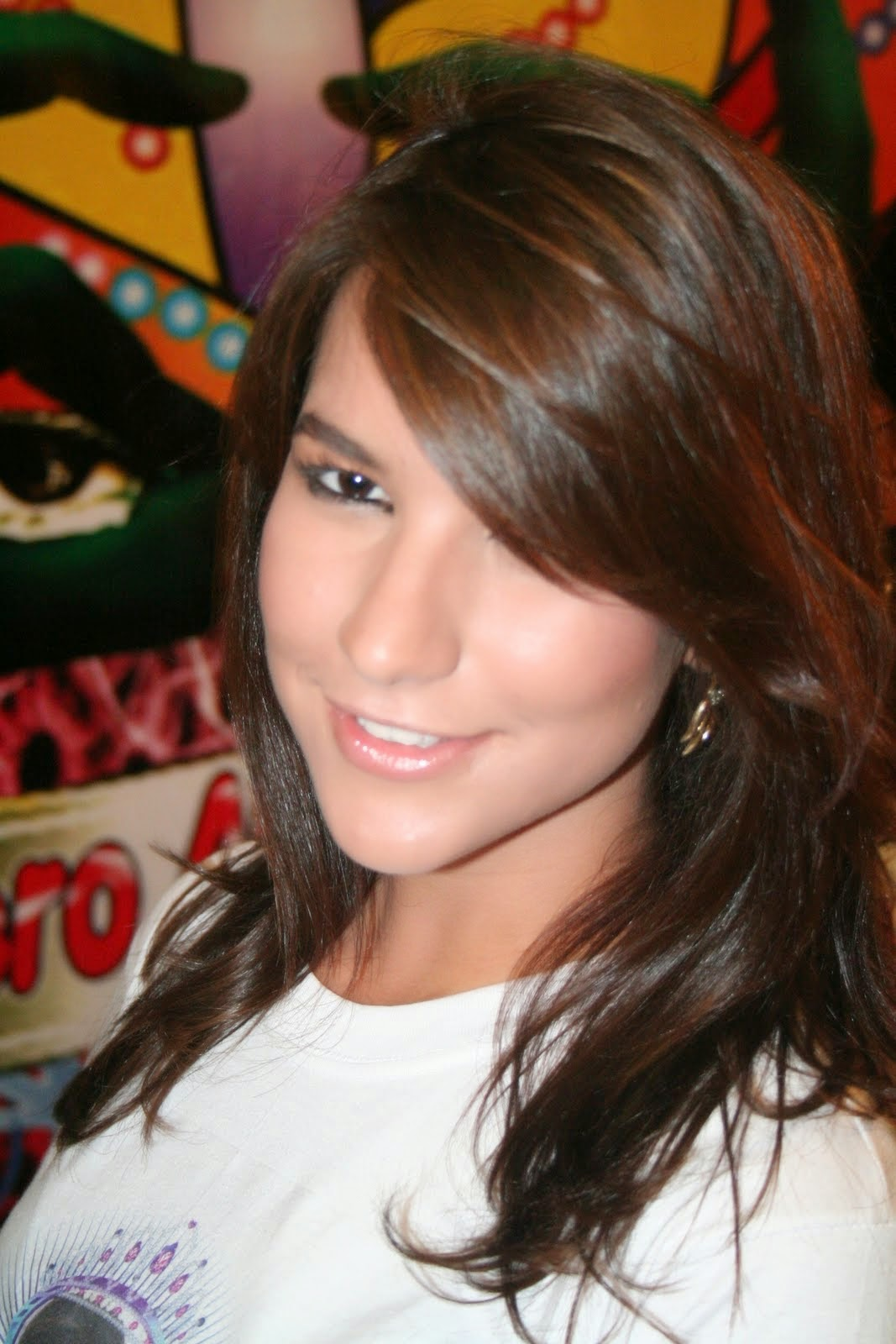Linda chica Facebook de Bellas Mujeres.