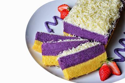 Resep Cara Membuat Kue Lapis Talas Bogor Enak