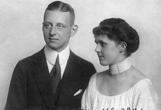 Nikolaus grand-duc héritier d'Oldenbourg et Helene zu Waldeck und Pyrmont