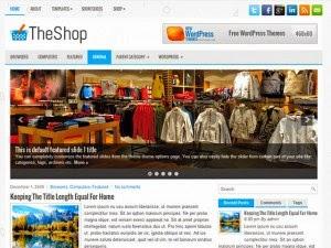 TheShop - Free Wordpress Theme