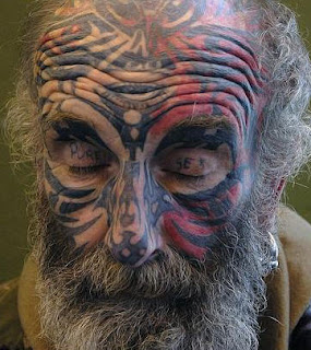 Face Tattoos - Face Tattoo Pictures