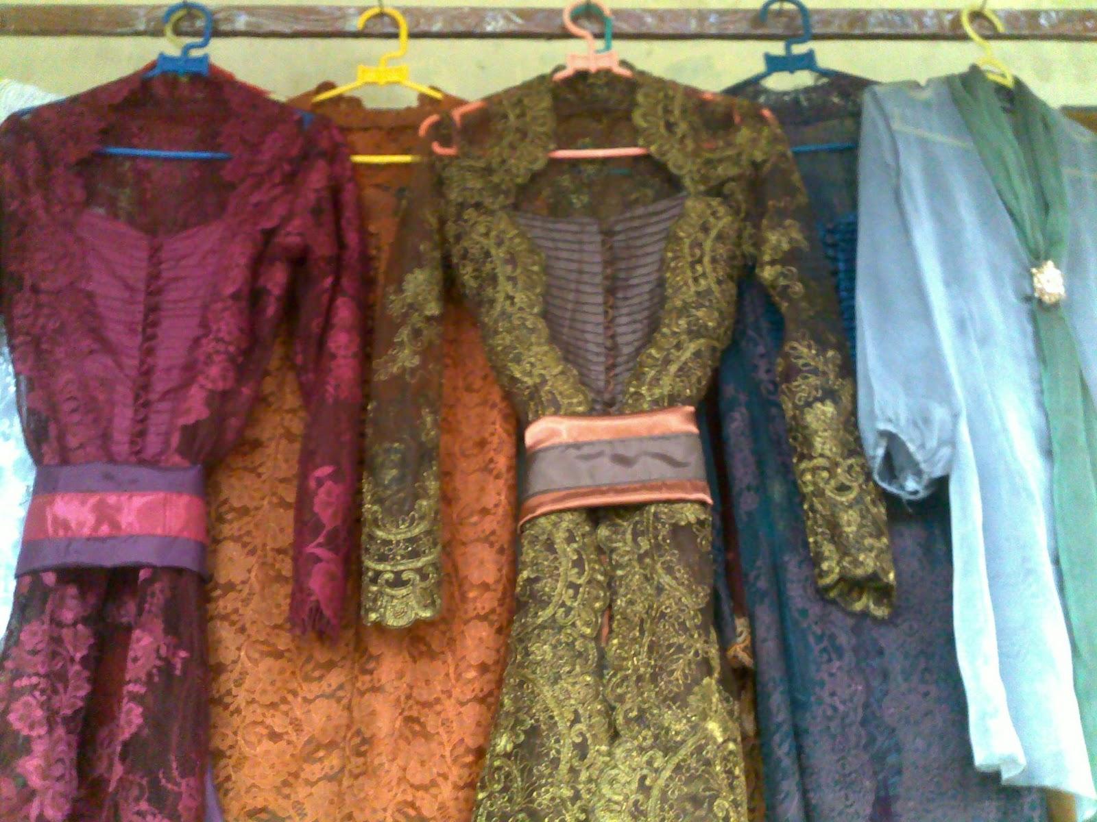 Kebaya modifikasi harga tergantung jenis kain