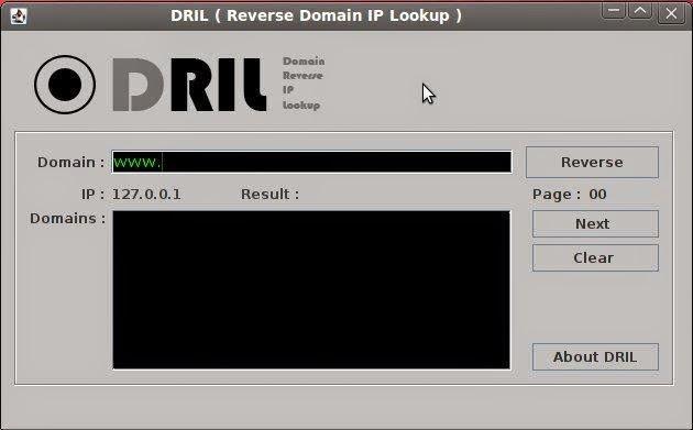 Reverse lookup domain tools