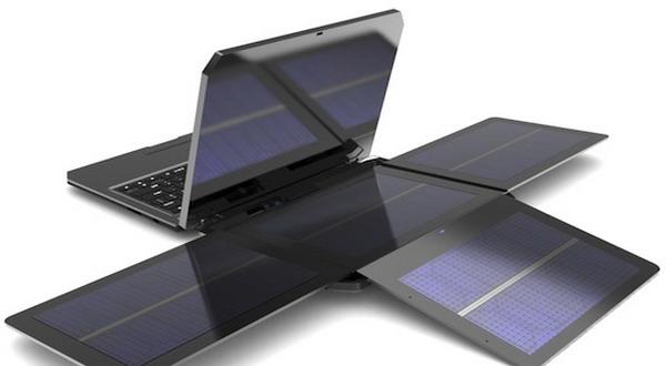 Inilah Laptop yang Mengunakan Tenaga Surya