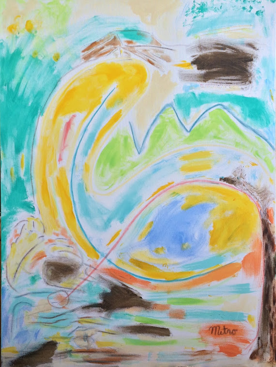 "Mother Africa and The Dance Within - 2015  30"" by 40""  $1,500,000"