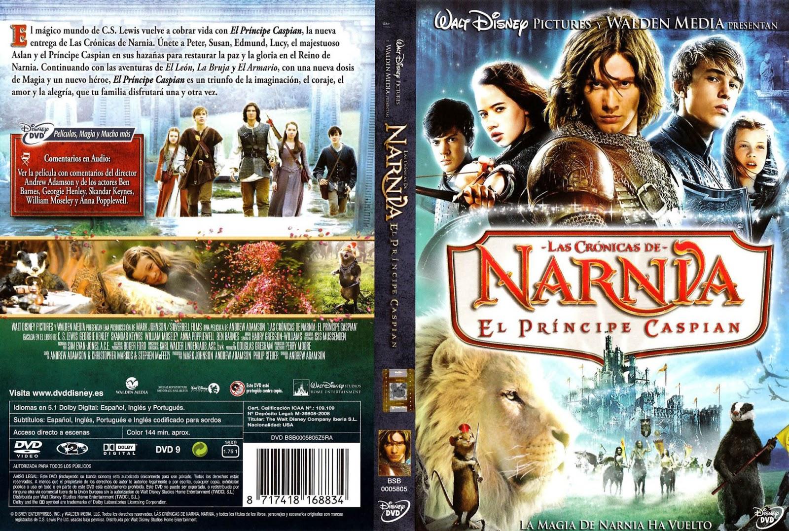 Las Cronicas De Narnia El Principe Caspian DVD