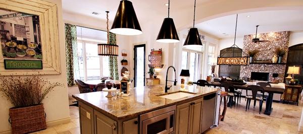 desain dapur mewah dan berkelas rancangan desain rumah