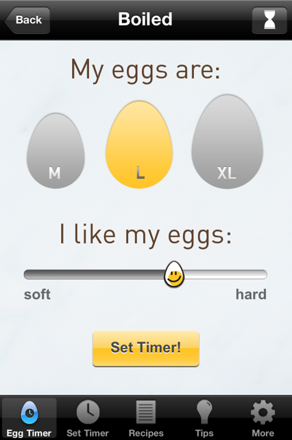 Egg Farmers of Canada - Egg Timer App ~ A MotherHood Experience