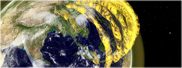 tubos de plasma ao redor da Terra