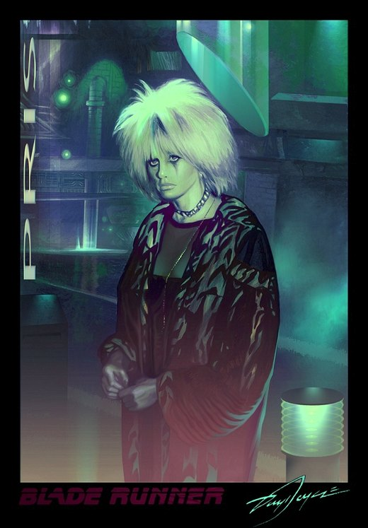 Pris from Blade Runner por Harnois75