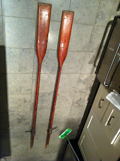 Disappearing Propeller Boat Spoon Oars