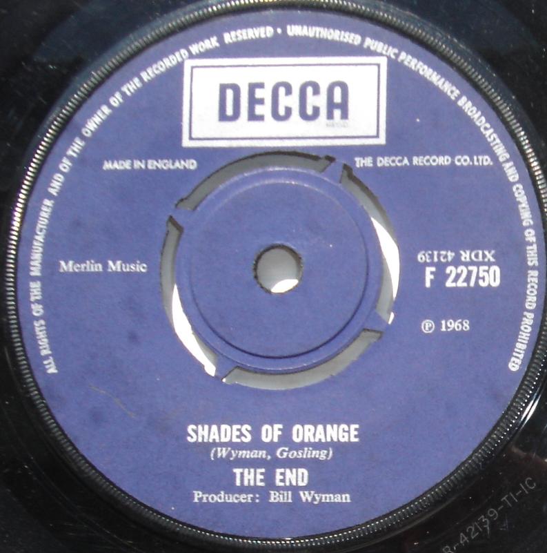 End Shades Of Orange