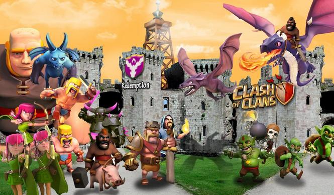 Beberapa Koleksi Wallpaper Clash of Clans Untuk PC dan Android