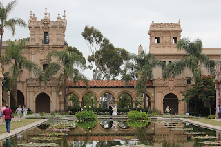 Balboa Park Reflecting Pool Before