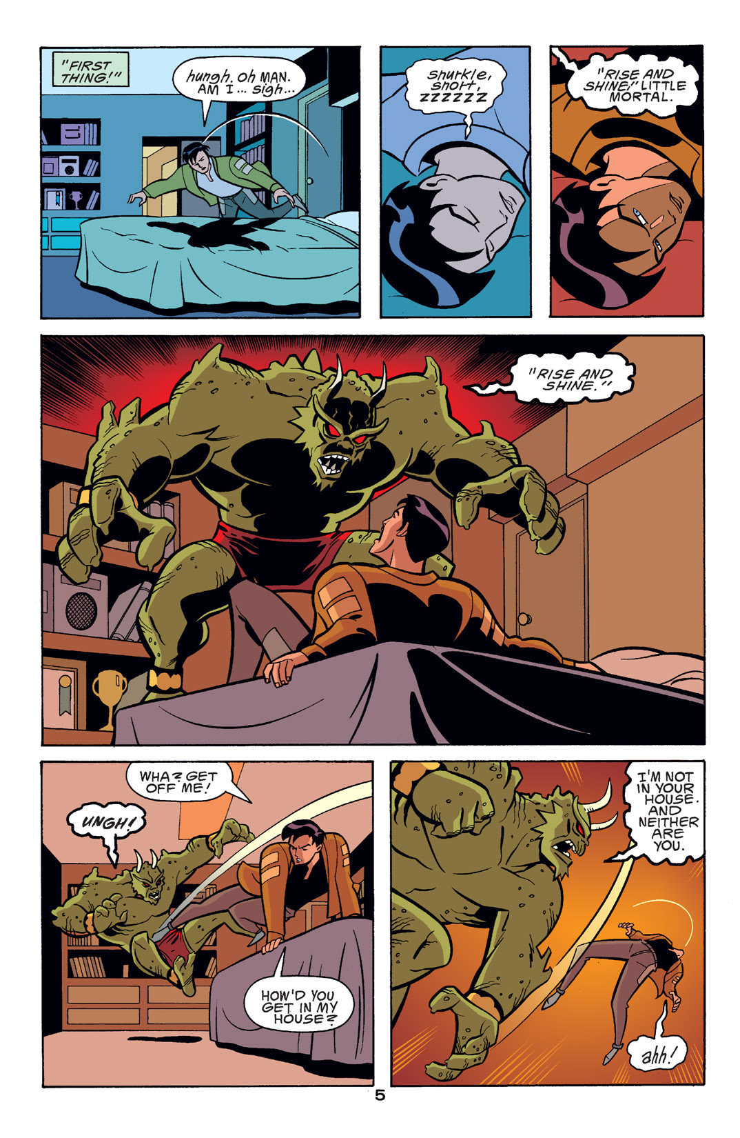 Batman Beyond [II] Issue #14 #14 - English 6