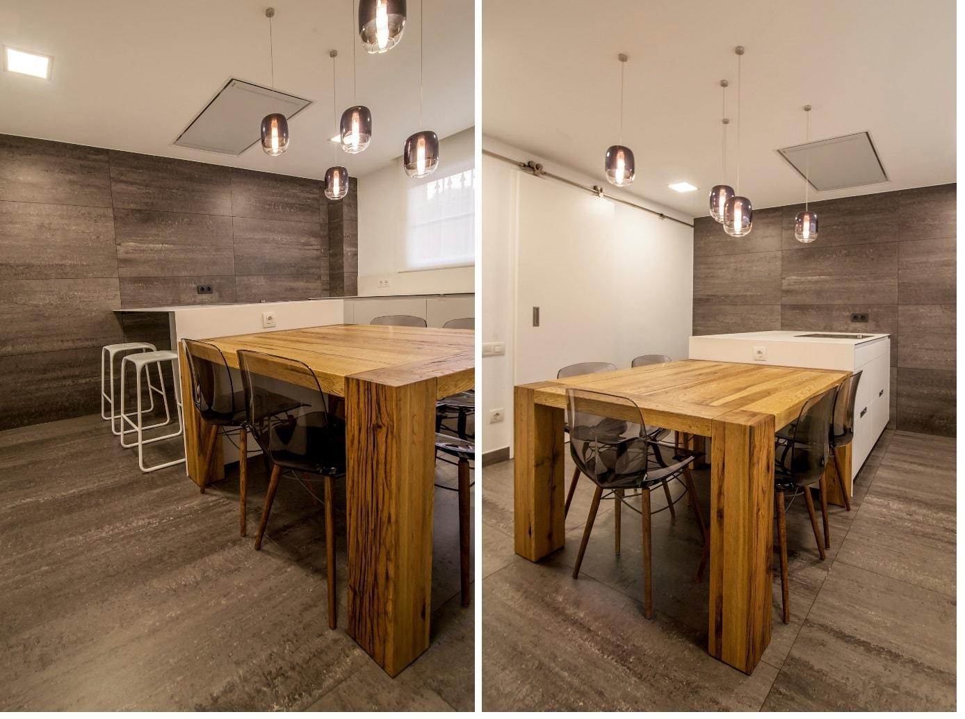 mesas de madera un complemento ideal para las cocinas