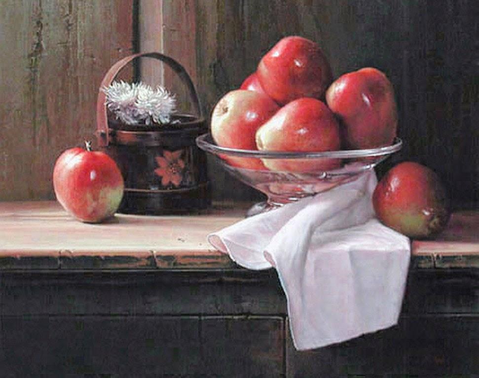 cuadros-realistas-de-bodegones-con-frutas-y-vinos