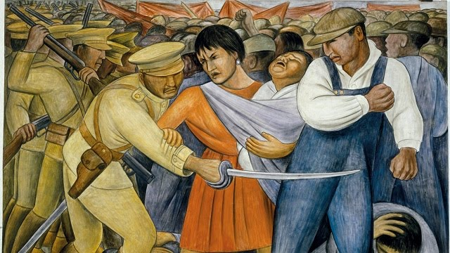 Art blog by bob occupy moma diego rivera s populist for Diego rivera s most famous mural