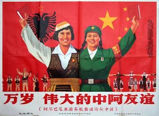 """""""¿Leninismo o socialimperialismo?"""" - texto publicado en el blog Crítica Marxista-Leninista en mayo de 2013 -  incluye extractos del artículo del mismo nombre publicado en abril de 1970 en Peking Review - Interesante Viva+la+amistad+entre+China+y+Albania+-+circa+1968"""