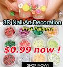 3D nail art decoration