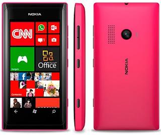 HP Nokia Lumia 505 Terbaru