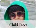 Male child fashion faces