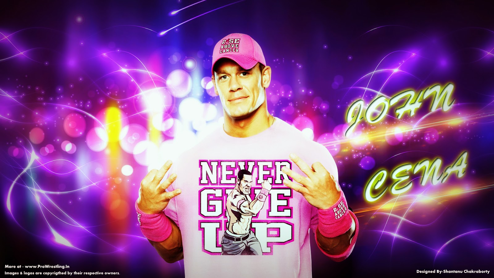 "Wallpaper — Download ""John Cena"" Wallpaper (Designed By Shantanu Chakraborty)"