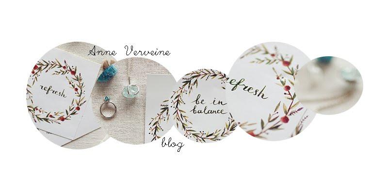 Anne Verveine blog