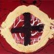Vermell amb cercle de matèria (Antoni Tàpies)