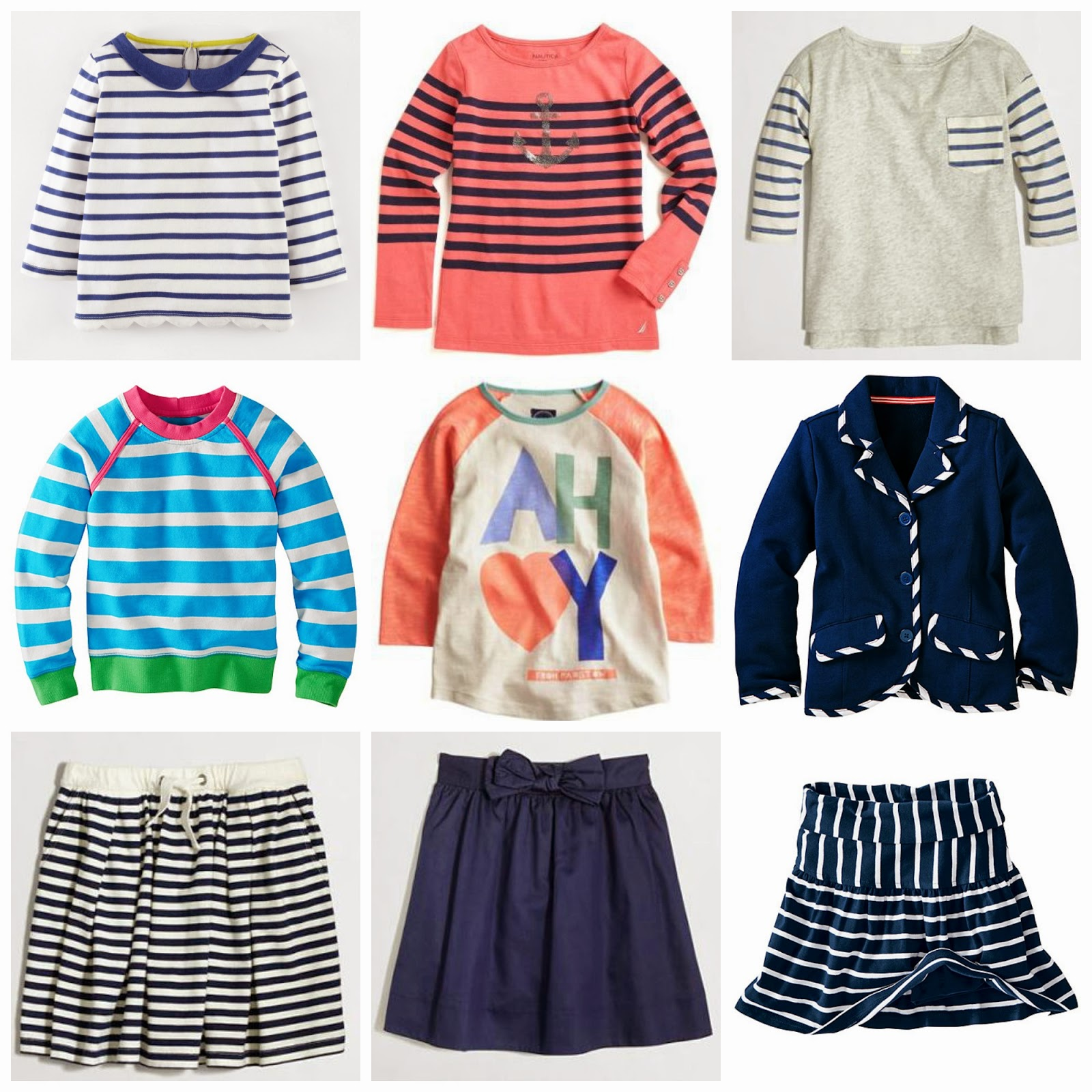 Nautical by Nature | Back to School: Girls nautical clothing