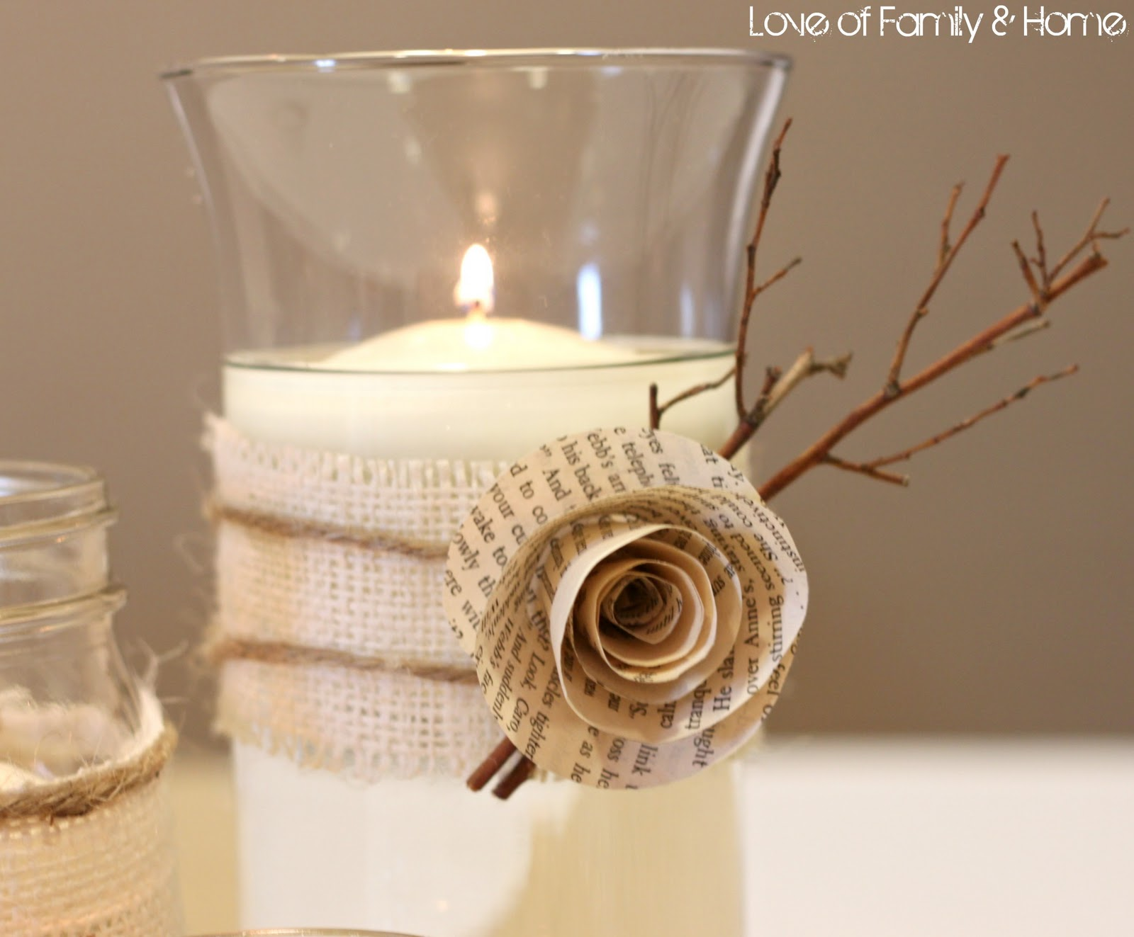 Diy rustic chic fall wedding reveal love of family home solutioingenieria Gallery