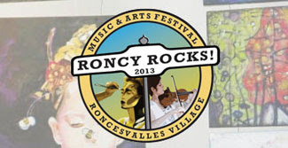 roncy rocks, music and art fesitval, toronto festival, roncesvalles festival, malinda prudhomme, roncy rocks artist