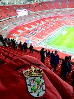 Las fiestas de Nava en Wembley con España