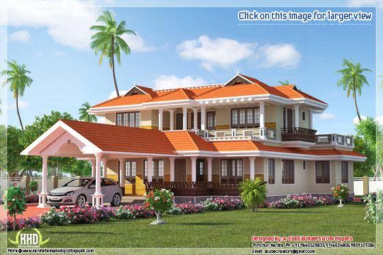 Kerala style home plan