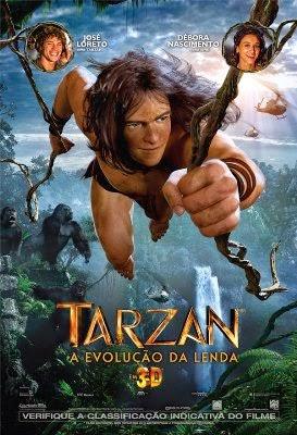 Download Tarzan: A Evolução da Lenda  BDRip Dublado (AVI e RMVB)