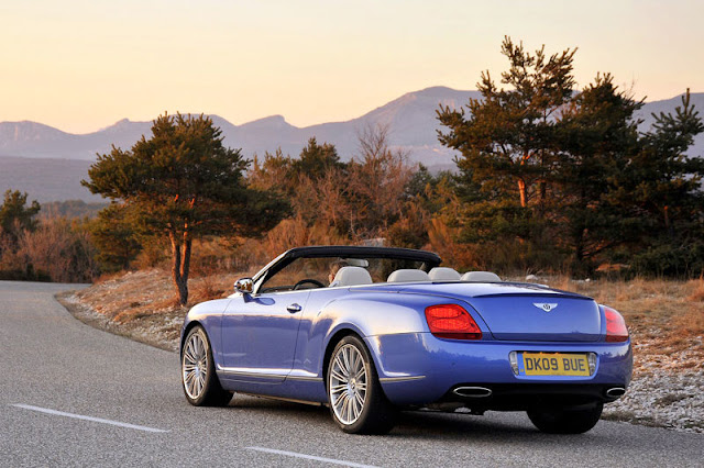 2010 Bentley Continental GTC Speed Back Exterior