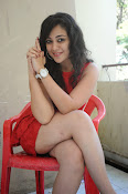 Saba Saudagar Glam photo shoot in red-thumbnail-16