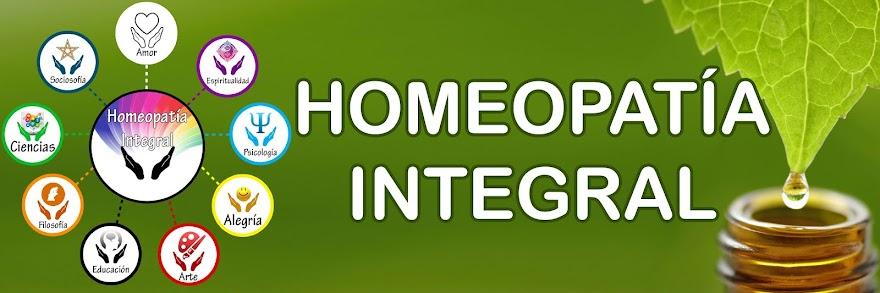 HOMEOPATÍA INTEGRAL