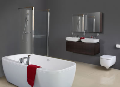 New home designs latest modern bathrooms designs ideas for Peinture de salle de bain tendance