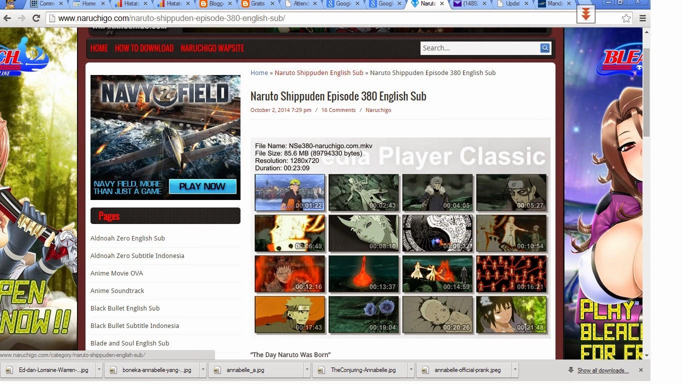 naruchigo.com download gratis naruto dan anime lain