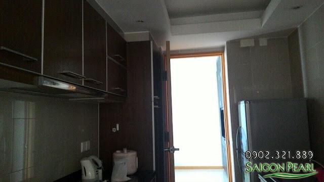 Bếp căn hộ Saigon Pearl 86m2 cho thuê