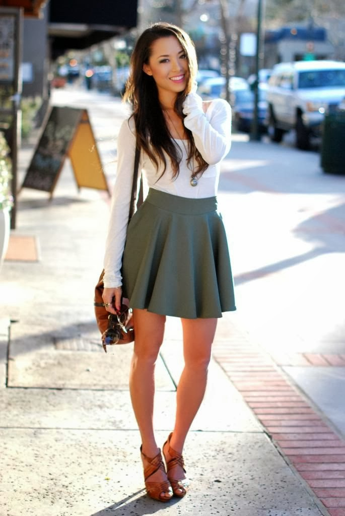 Trending: The full circle skirt (or skater skirt) and how ...