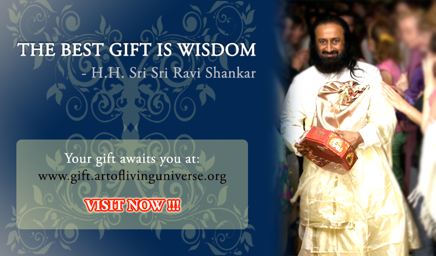 FREE Lifetime Subscription to Sri Sri's Knowledge Topics