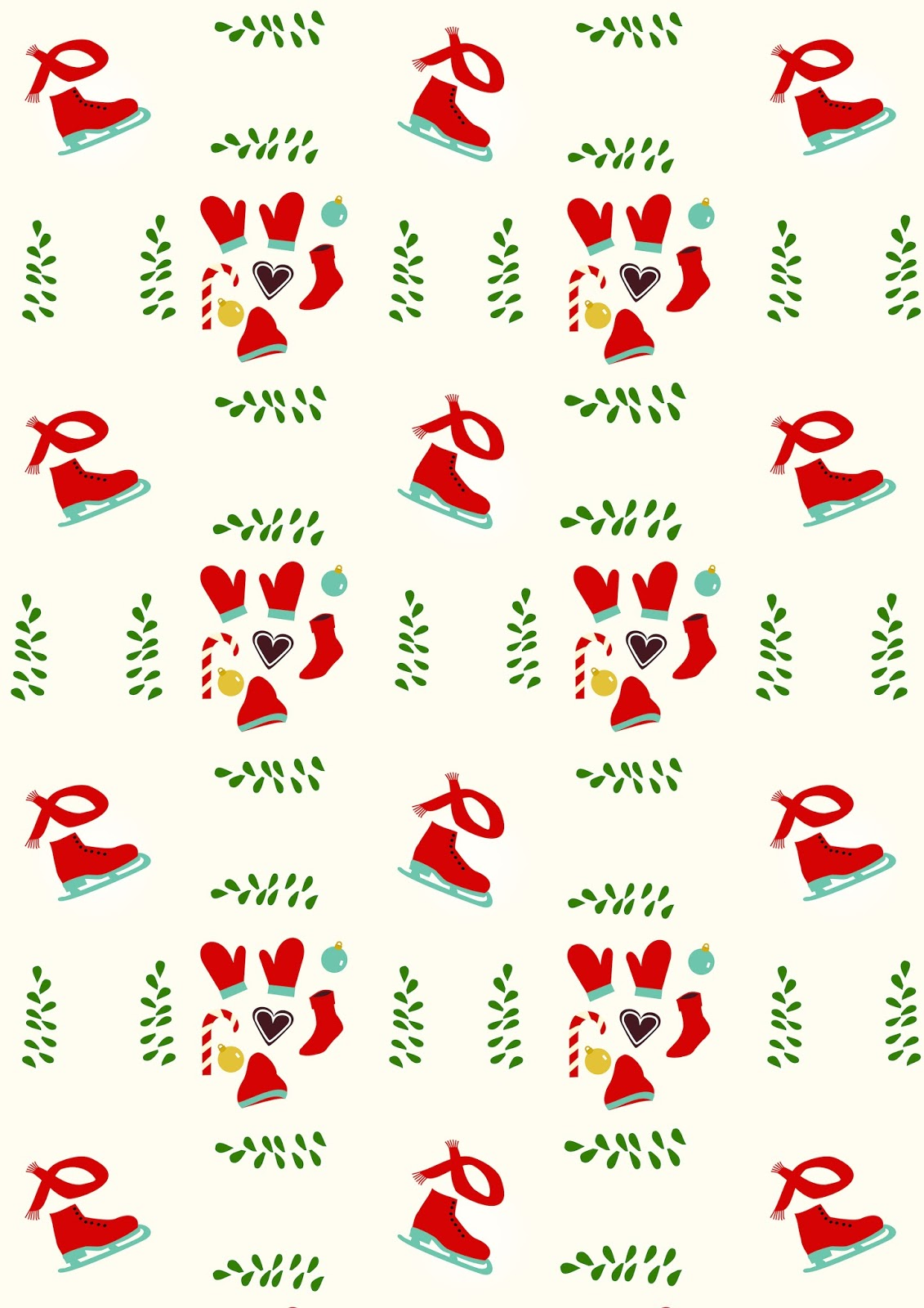 This is a photo of Epic Christmas Printable Paper