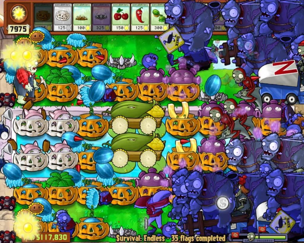 The undefined gamer plants vs zombies ds review