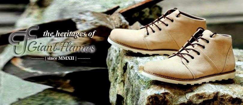 Sepatu Giants & Trumph