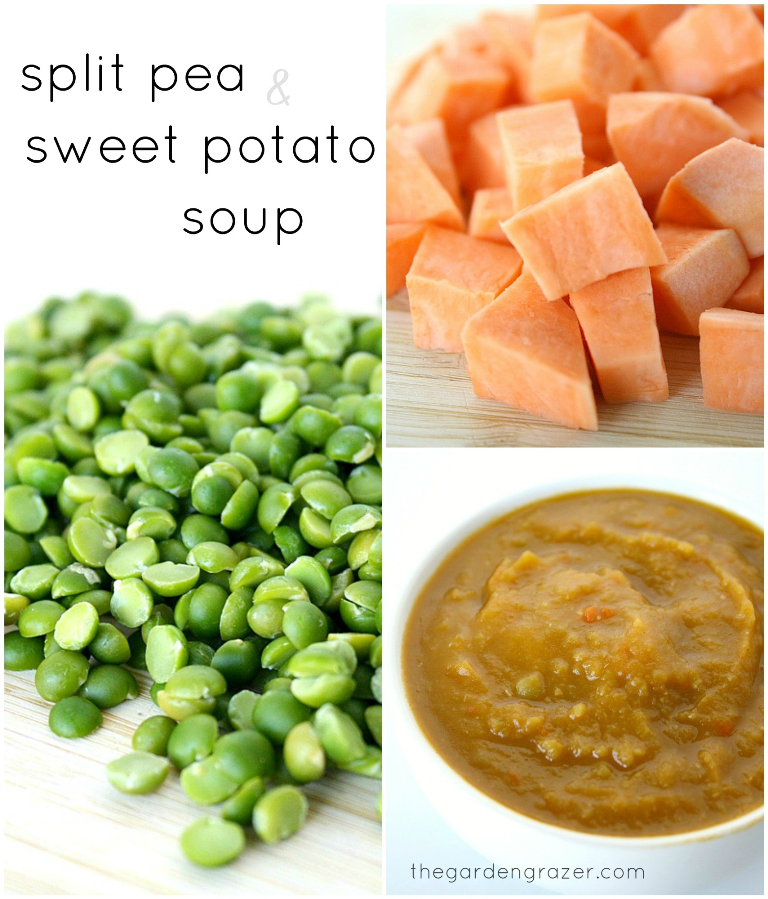 The Garden Grazer: Split Pea and Sweet Potato Soup