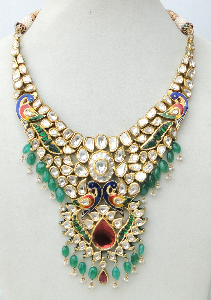 Indian Kundan Jewellery Designs Catalogue Page 2